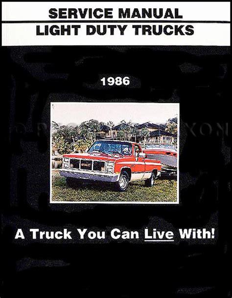 automotive repair manual 1992 gmc jimmy interior lighting cadillac parts interchange guide