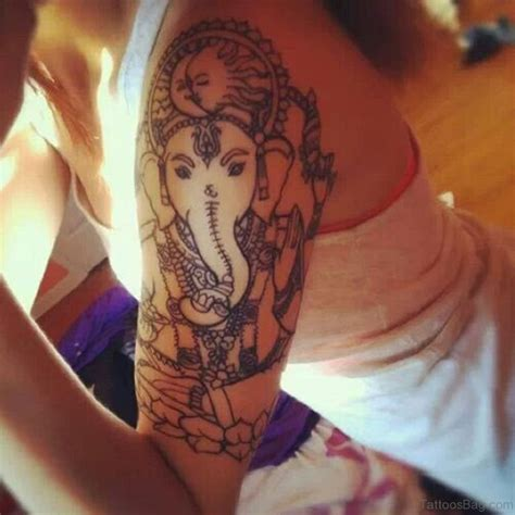 ganesha tattoo on girl 92 lord ganesha tattoos on shoulder