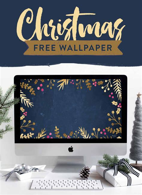 where to buy constructuve christmass wal paer free festive wallpaper gold foil foliage