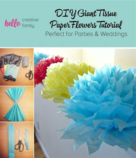 How To Use Tissue Paper To Make Flowers - best 25 tissue paper flowers ideas on paper