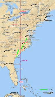 Map Of The East Coast United States by East Coast United States Of America Map