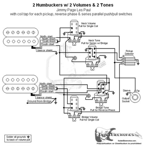jimmy page wiring diagram 2 hbs 3 way 2 vol 2 tone coil tap series parallel phase