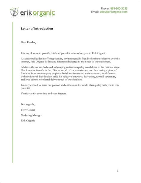 company introduction letter format company introduction letter format 10 free sles