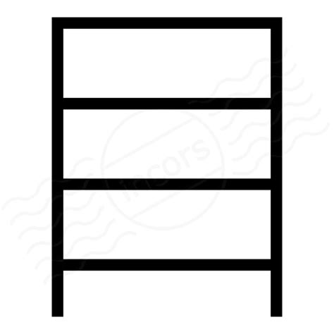 iconexperience 187 i collection 187 shelf empty icon