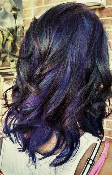 rambut ombre bob warna ombre rambut blue and black bosan dengan warna