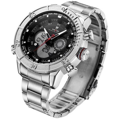 Jam Tangan Digitec 2100 Silver weide jam tangan digital analog stainless steel wh6308 silver black jakartanotebook