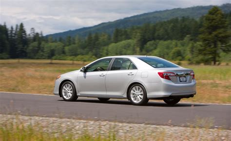 Toyota Camry Xle 2012 Car And Driver