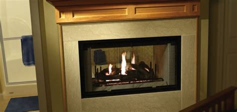 Airtight Fireplace by Heatilator See Through Non Airtight Wood Burning Fireplace