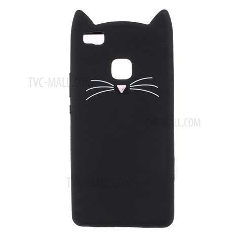 Silicon Casing Softcase 3d Huawei Mate 9 7 lovely 3d moustache cat soft silicone back for huawei