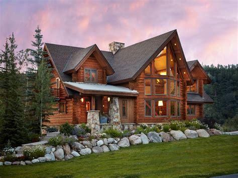 colorado log cabin homes log cabin winter scenes log home log cabin builders colorado luxury log cabin homes modern
