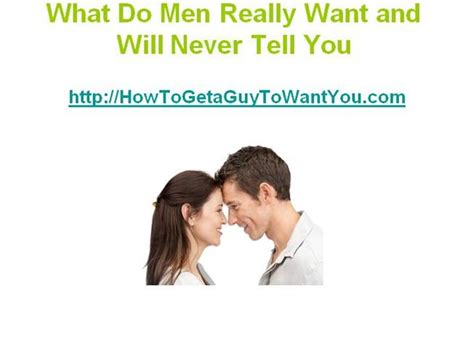 Do Guys Really Want An Fashioned by What Do Really Want And Will Never Tell You Authorstream