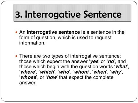 pattern of interrogative sentences 7 sentence driverlayer search engine