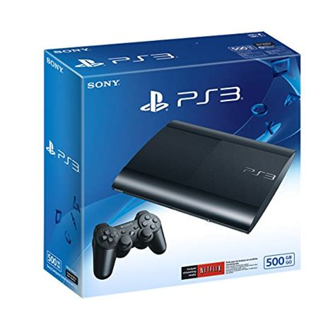 ps3 console sony ps3 500gb slim console ps3