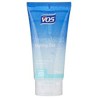 styling gel mega hold vo5 mega hold styling gel 175ml amcal