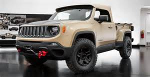 Jeep Renegade Concept Jeep Renegade Comanche Concept Price Release Date Specs