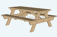 stansport heavy duty picnic table and bench set build a heavy duty picnic table quick woodworking projects