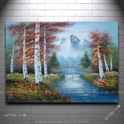 bob ross painting waterfalls 230 best images about paisajes on tropical