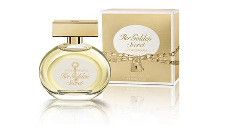 Parfum Antonio Banderas The Golden Secret golden secret for antonio banderas perfumes puig