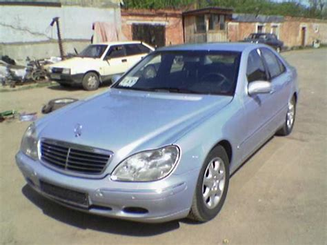 1999 Mercedes S500 by 1999 Mercedes S500 Pictures 5000cc Gasoline Fr Or