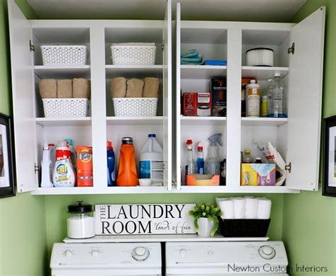 organize a room organizing a small laundry room newton custom interiors