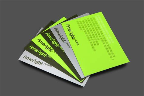 sports business card sport logos and packaging