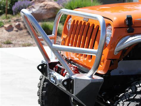 jeep front grill guard jk stinger grill guard front bumper aluminum genright
