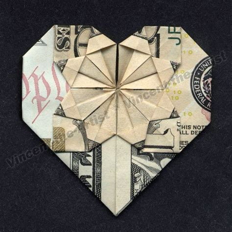 Money Origami Uk - dollar origami made from real money great gift idea