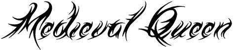 queen tattoo cursive tattoo fonts tribal typefaces cursive script
