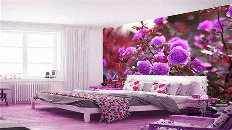 amazing bedroom  wall decor ideas wall mural designs youtube