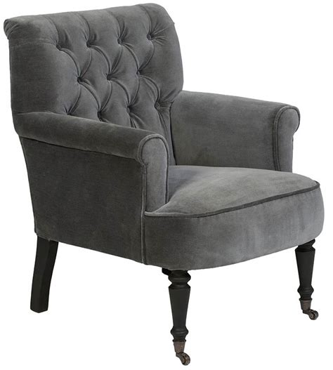 grey velvet armchair 25 statement armchairs real homes