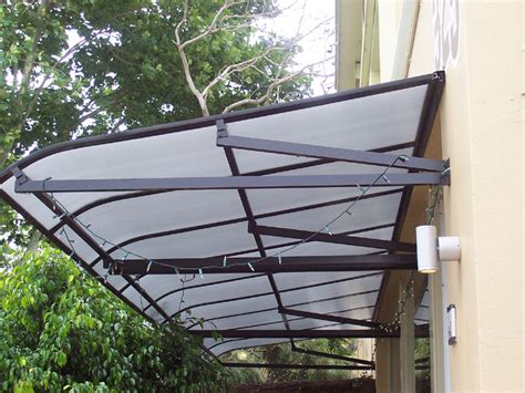 polycarbonate awnings sydney window awnings by carbolite