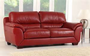 Leather Fabric Sofas Leather Sofas One Decor