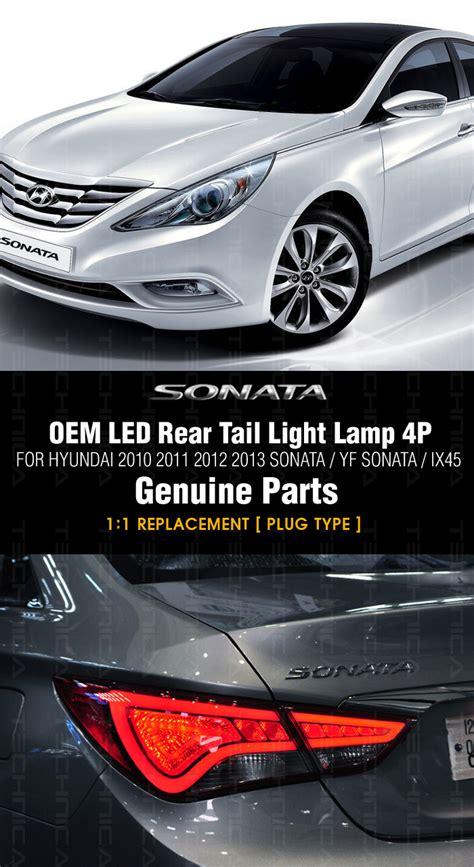 2010 hyundai sonata 3rd brake light replacement oem led rear tail light l for hyundai yf sonata i45