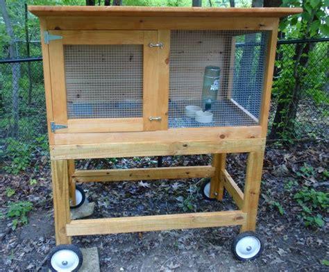 Rabbit Hutch On Wheels rabbit cage on wheels amazing buns