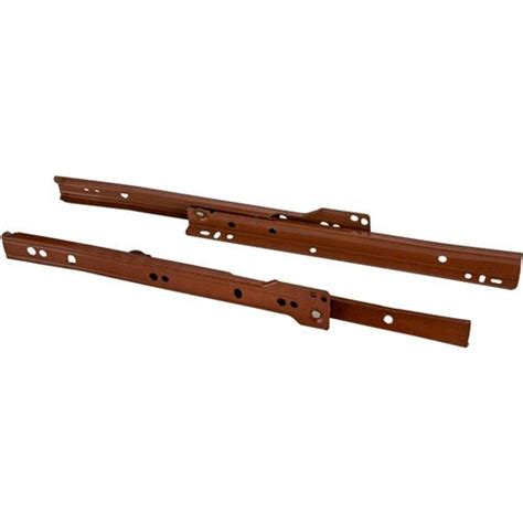 Style Drawer Slides by 10 Quot European Style Self Closing Drawer Slide Brown