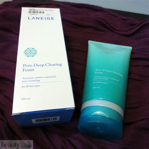 Harga Laneige Pore Clearing Foam laneige pore clearing foam review the yesstylist
