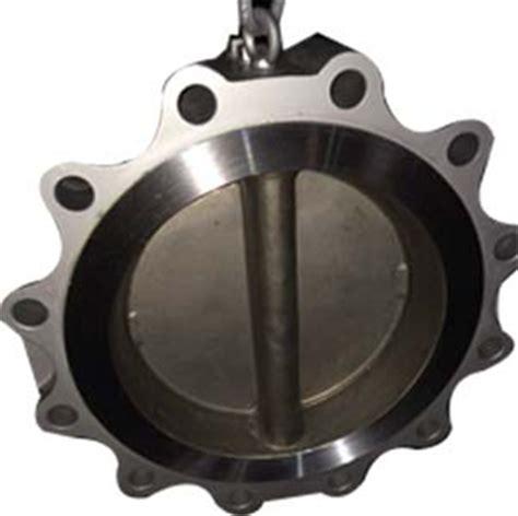 5 Wafer Check Valve Cast Iron Pn 16 cast iron wafer check valve dn450 pn16 ss304 disc landee