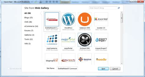 webmatrix creating cms websites is easy with the orchard webmatrix creating cms websites is easy with the orchard