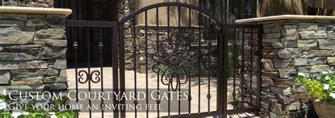 Southwest Backyard Designs Sunset Gates Wrought Iron Gates Amp Fencing Phoenix Arizona