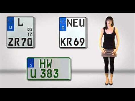 Motorrad Online Zulassung by Gutschild De Kfz Kennzeichen Versand Amtliche