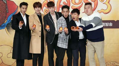 dramanice new journey to the west 3 kocaknya tingkah ahn jae hyun kyuhyun cs di jumpa pers