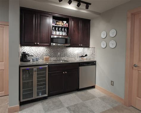 Basement Kitchen Design Platte Park Basement Traditional Denver By Diane Gordon Design Llc