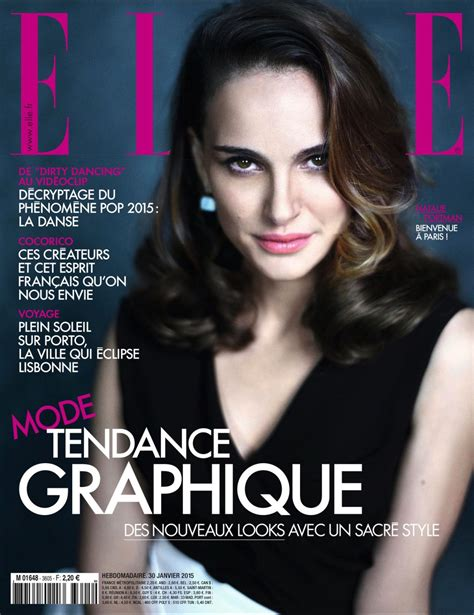 Elle Magazine Giveaways - natalie portman elle magazine france february march 2015 issue 2 styleblog n