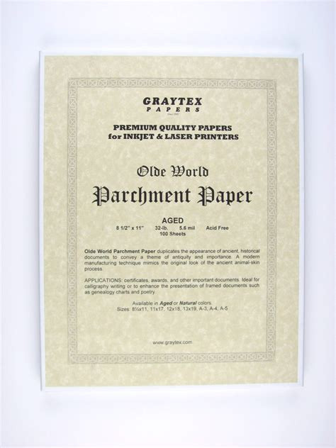 How To Make Parchment Paper For Writing - parchment paper for writing