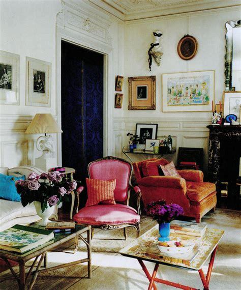 Log Home Interior Design hamish bowles paris apartment hahn interiors
