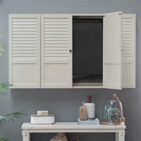 shutter tv wall cabinet belham living nantucket shutter front tv wall cabinet tv