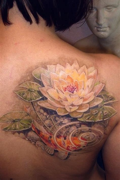 tattoo flower water 65 lotus flower tattoo designs that is full of meanings