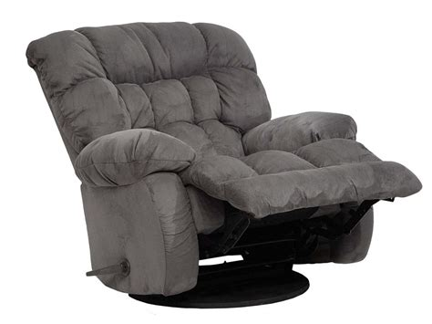 Recliners That Rock by Teddy Chaise Rocker Recliner By Catnapper Wolf