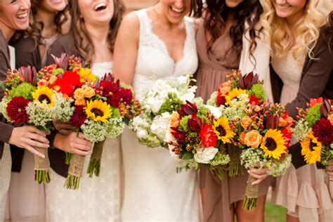 fall wedding flower ideas pictures wedding flower ideas for fall weddings