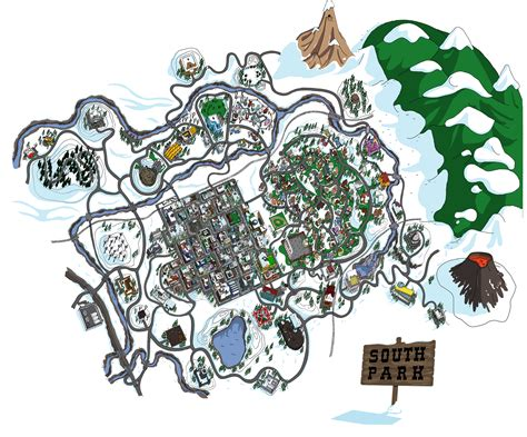 south park map www pixshark com images galleries with